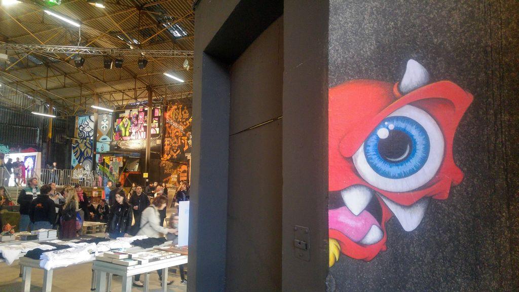 monstre cap phi festival street art lyon
