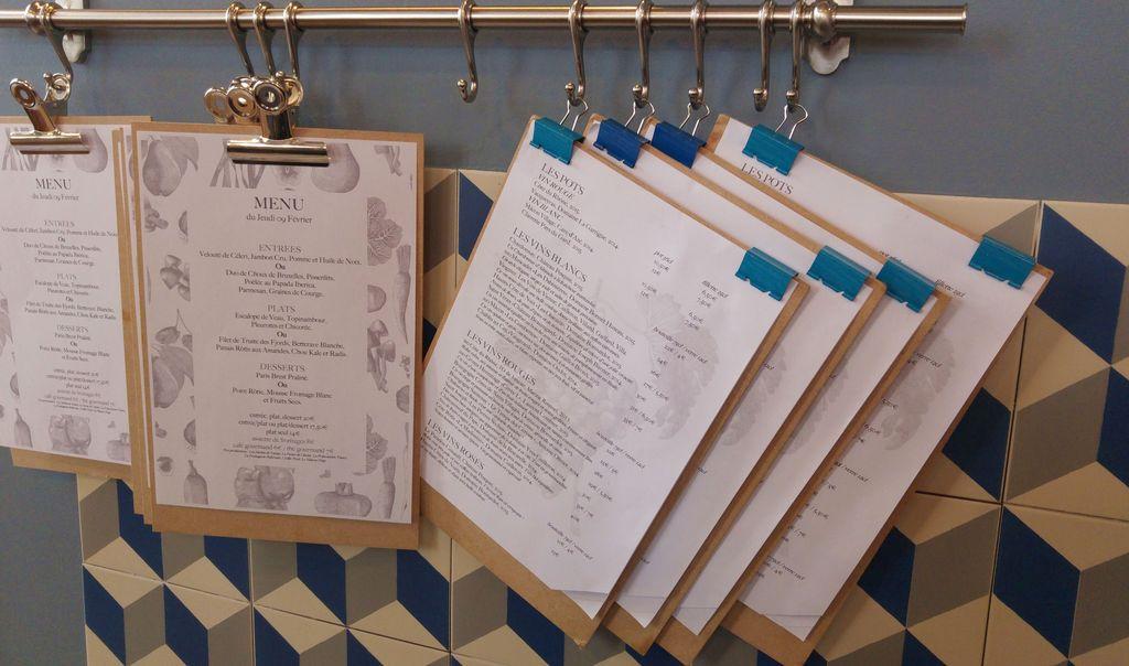 restaurant ravigote menu