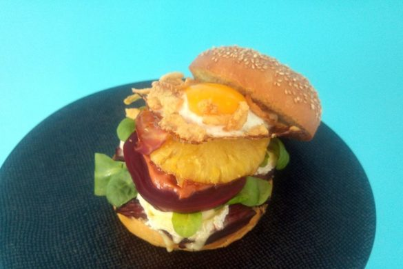 burger viande oeuf fromage