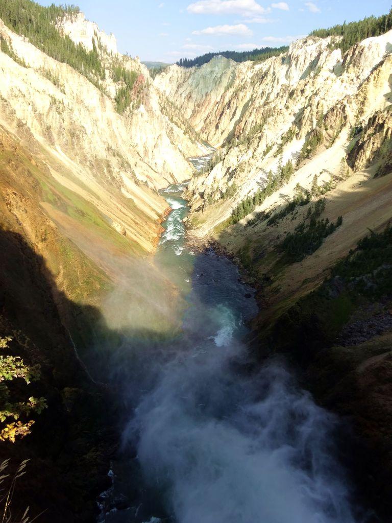 cascade parc de yellowstone