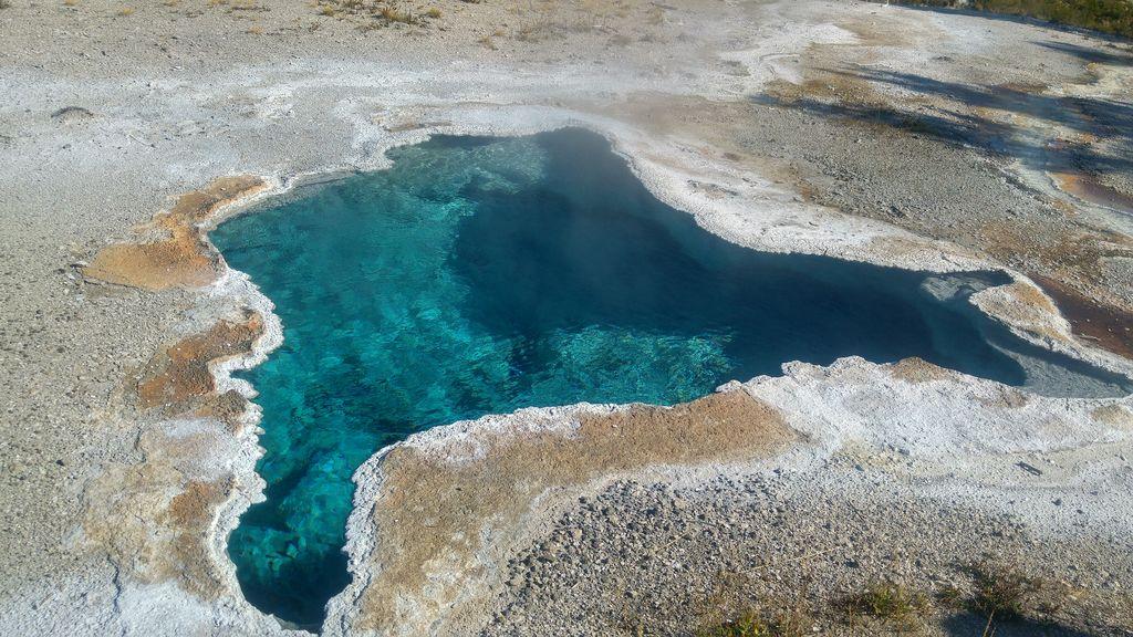 eau bouillon parc de yellowstone