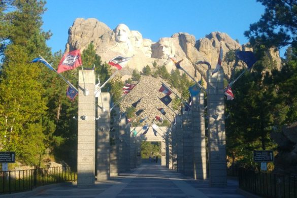 entree du mont rushmore monument