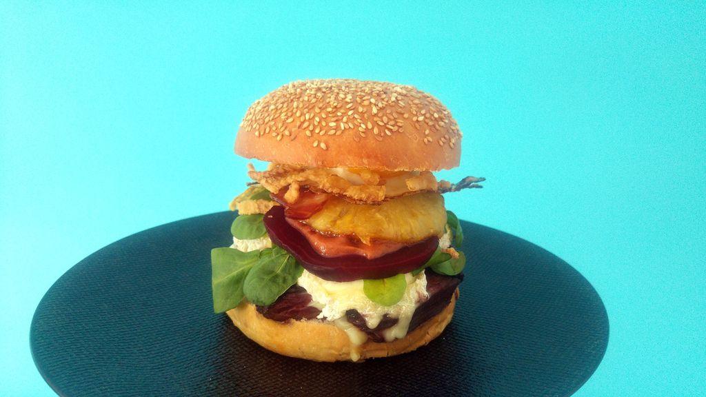 hamburger maison bun brioche