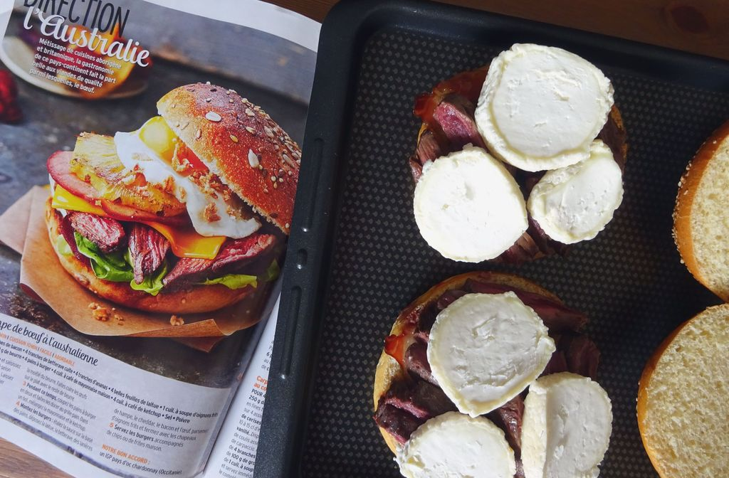 recette burger cuisine et vins