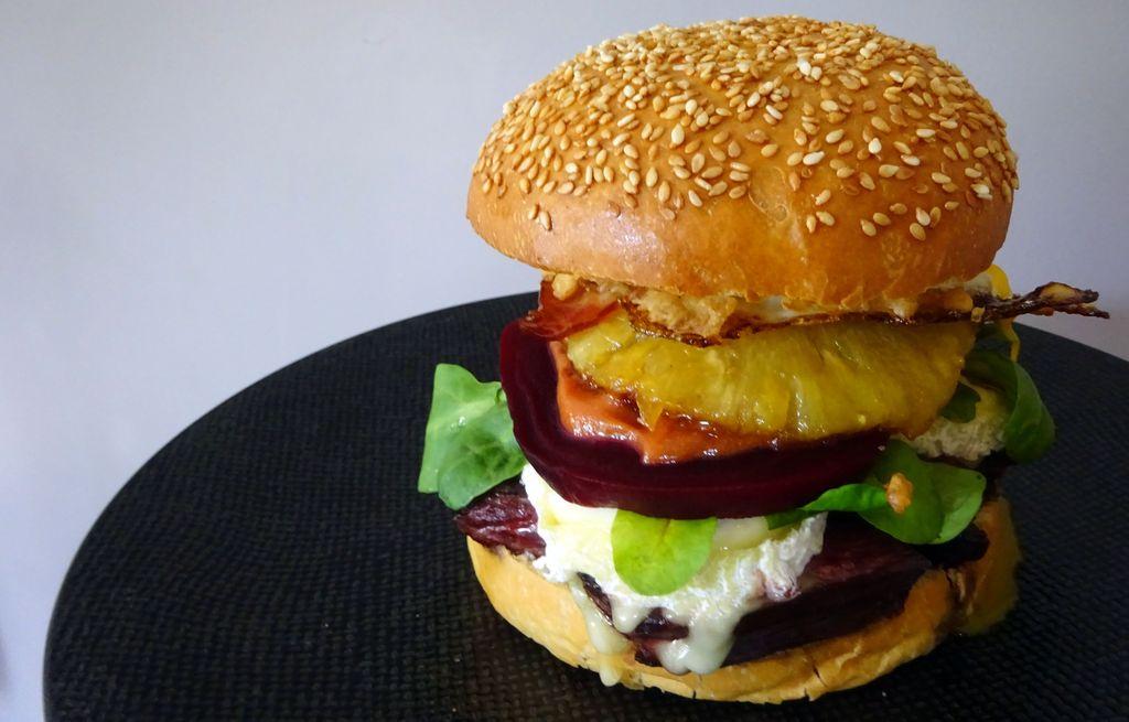 recette de burger australien