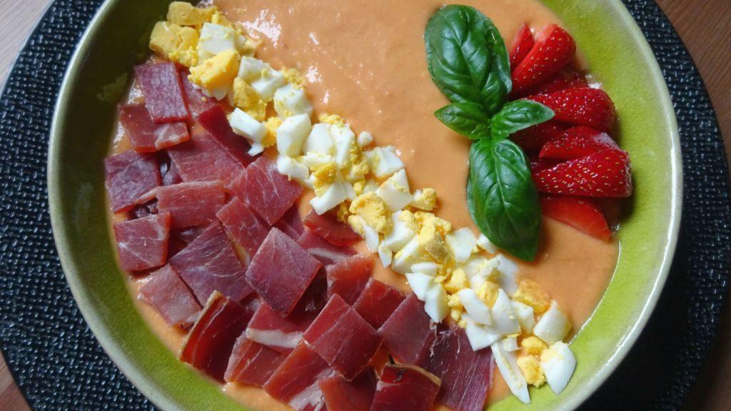 recette du salmorejo cordoue seville