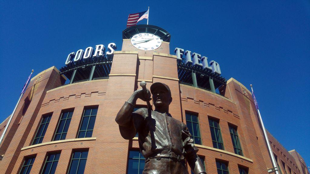 denver coors field rockies baseball