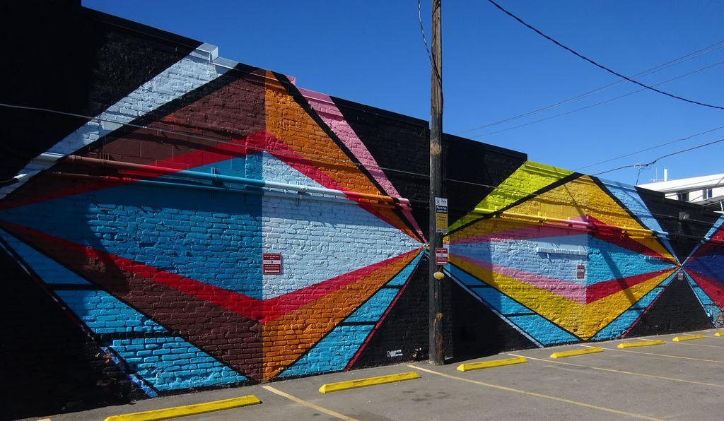 denver street art parking