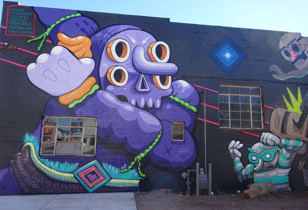 où voir du street art à denver