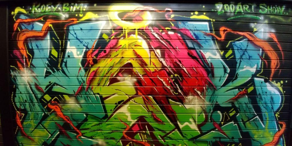 zoo art show halles de lyon urbain