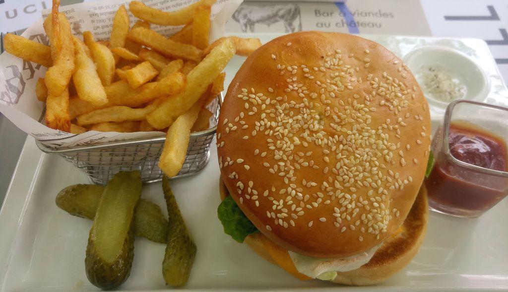 le grill du chateau burger maison
