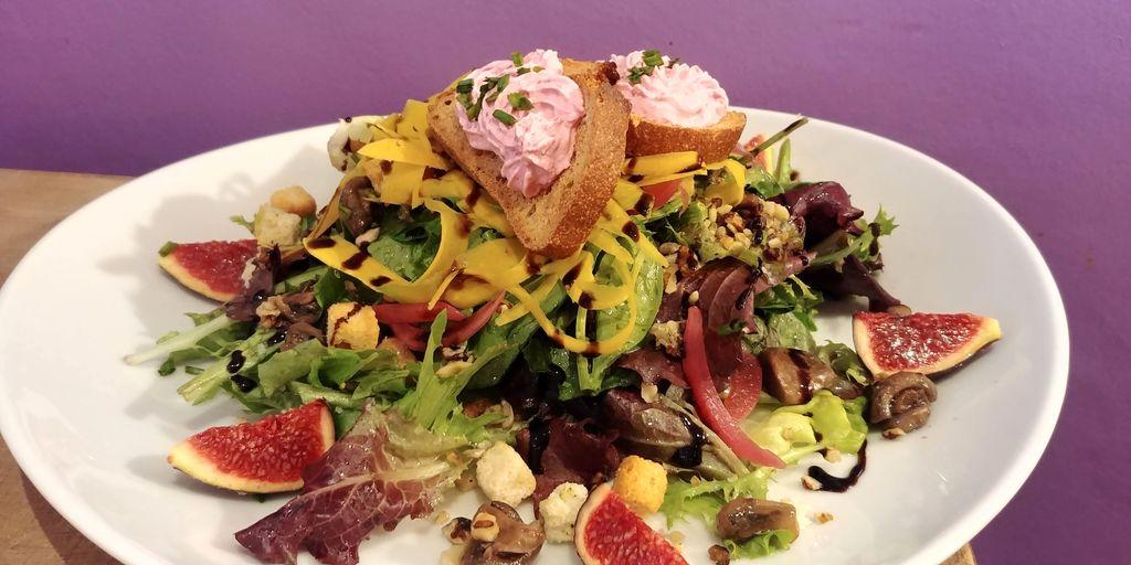 mercredi biscuiterie dejeuner salade