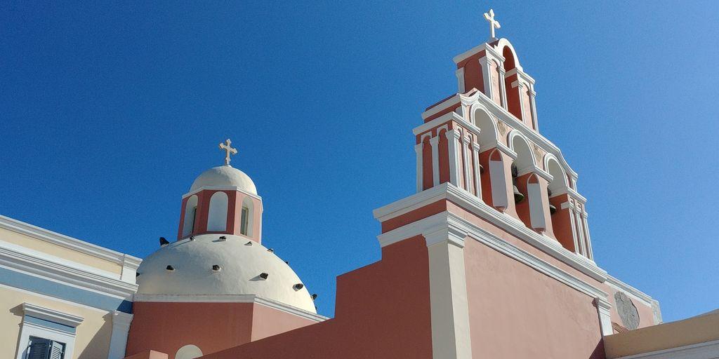 eglise catholique fira