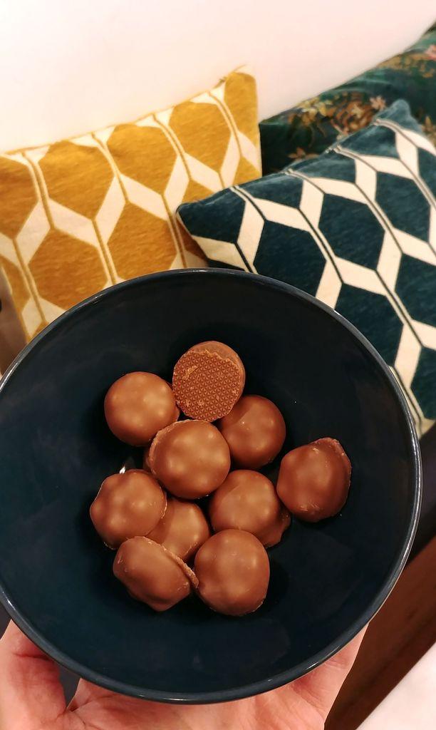 chocolat caramel valrhona