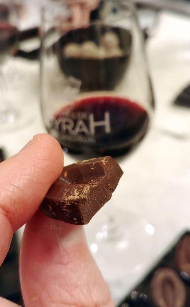 chocolat et vin