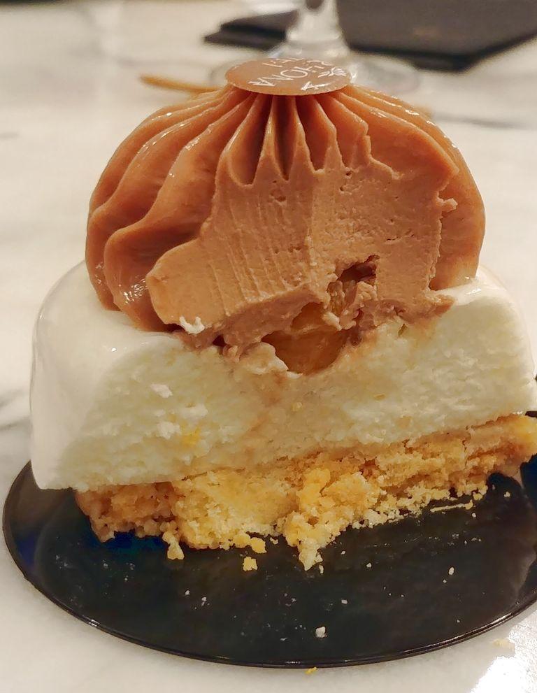 valrhona dessert chocolat coco passion