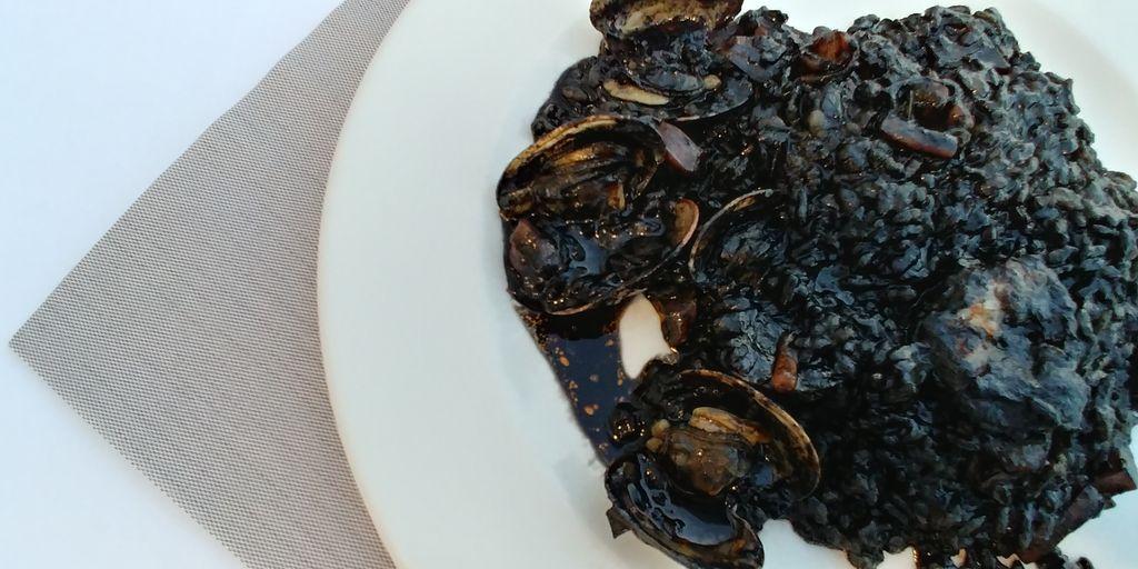 paella riz noir costa dorada