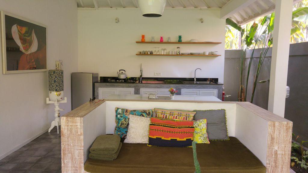 gili khumba villa cuisine