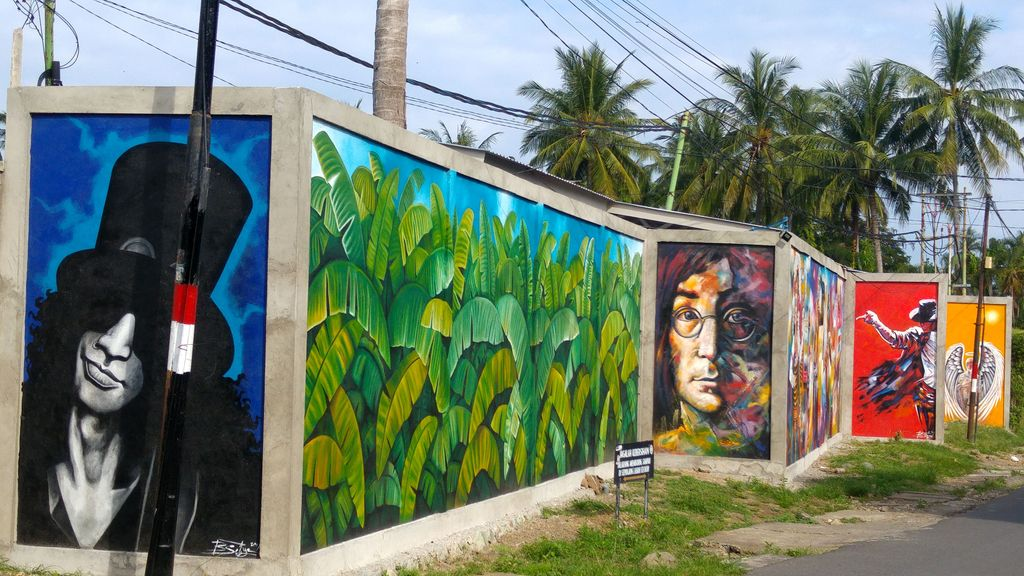 street art lombok