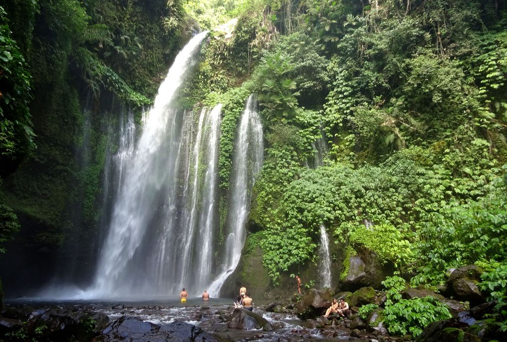 tiu kelep rinjani national park lombok