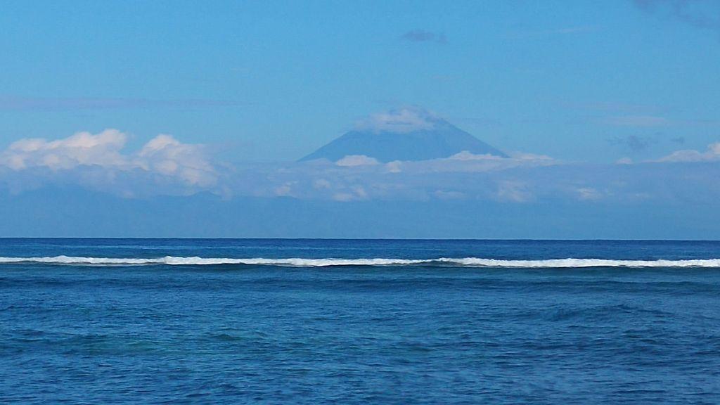 vue sur mont rinjani lombok