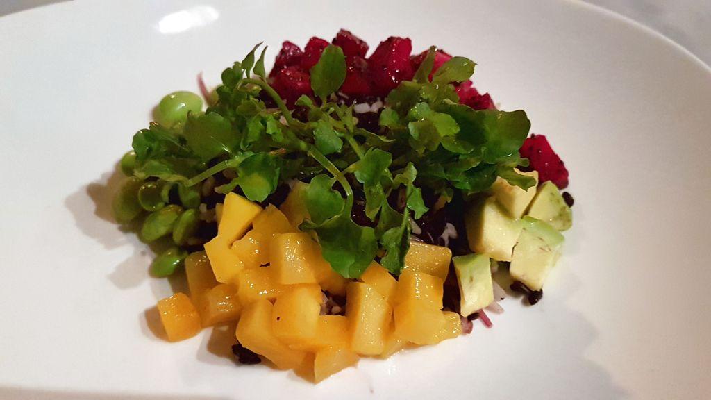 salade du arang restaurant a ubud