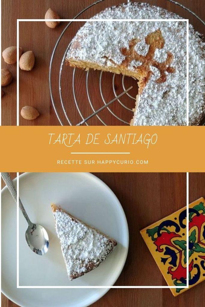 recette de la tarta de santiago