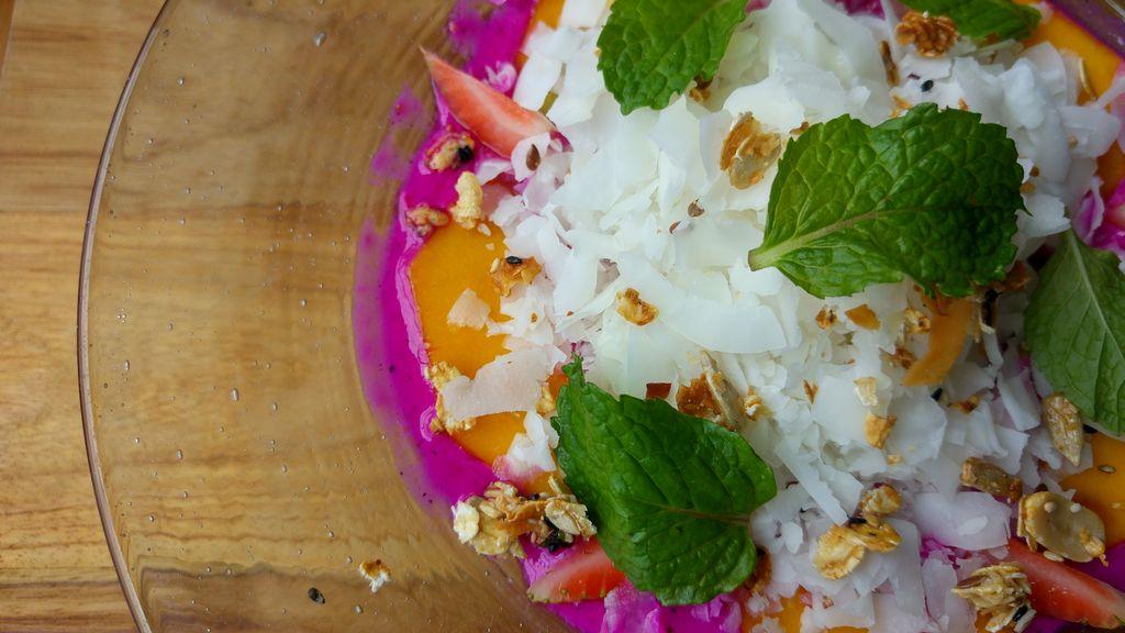 healthy bowl au fruit du dragon