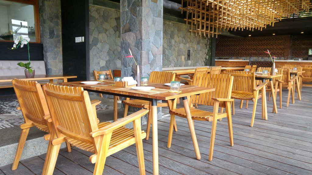 restaurant au-dessus du jungle fish bali