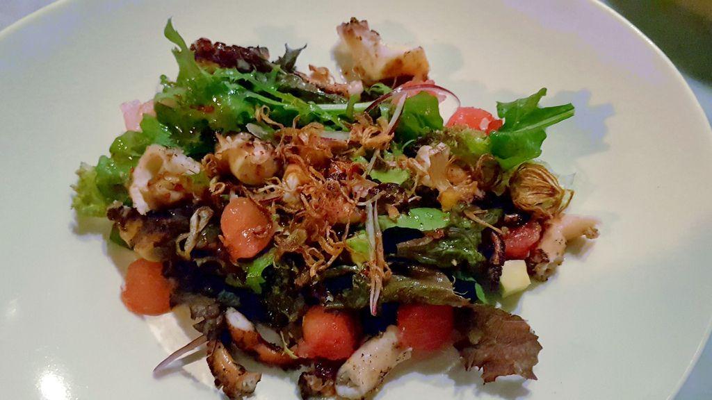 assiette de salade du arang bar ubud
