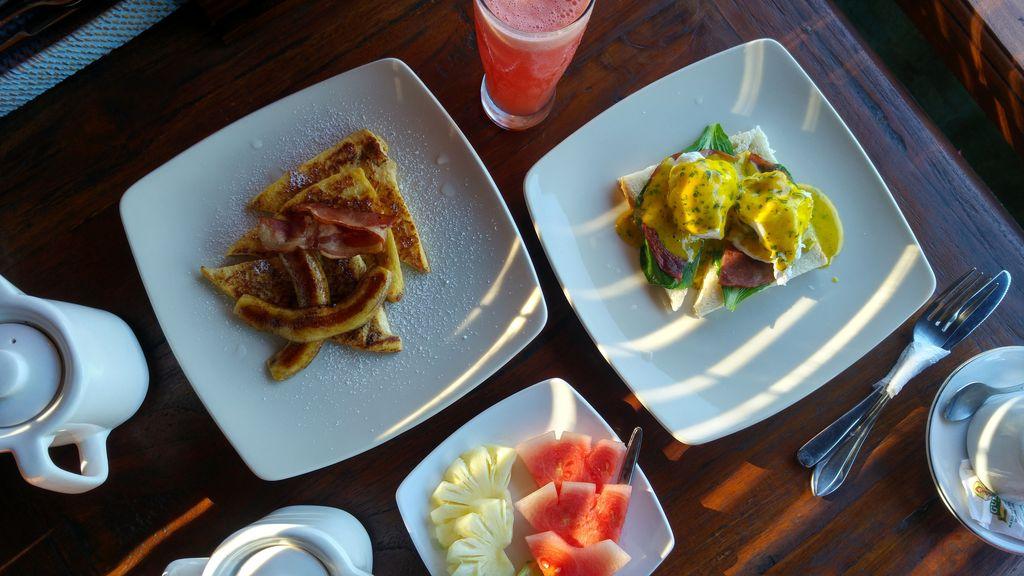 petit dejeuner maison de lestaru villas ubud