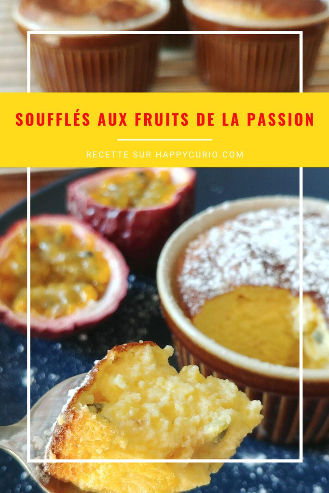 fiche recette de soufflé fruit de la passion