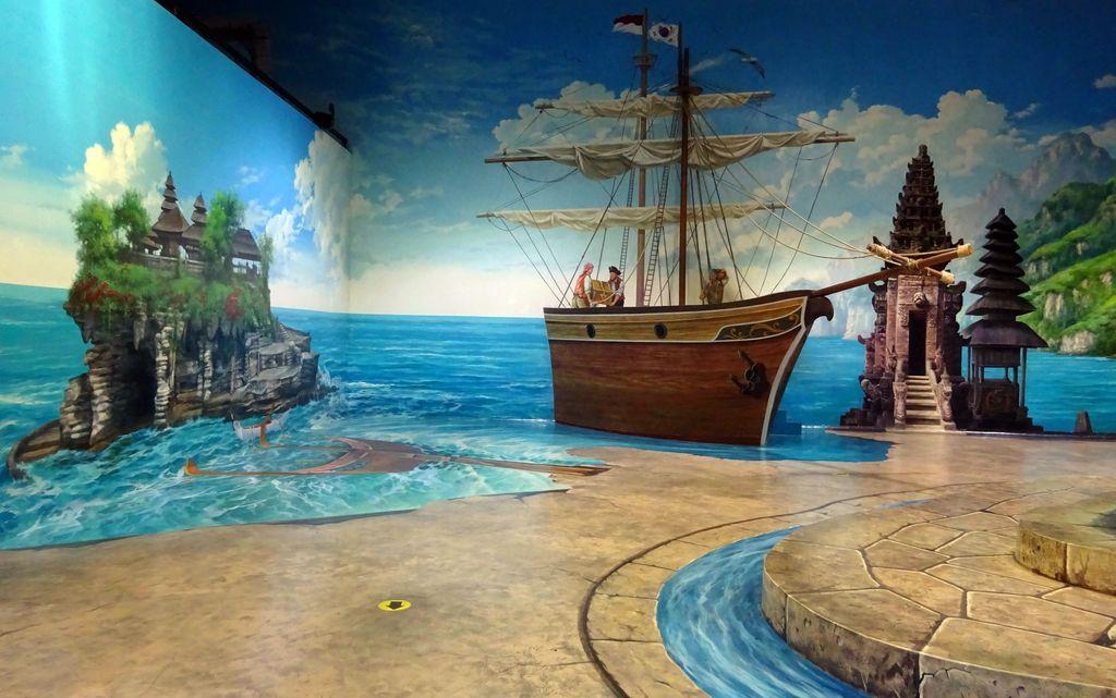 faus bateau pirate du dmz 3d museum