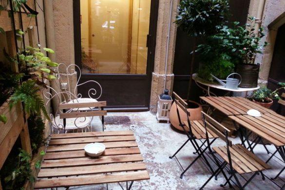 terrasse interieure des cafetiers a lyon