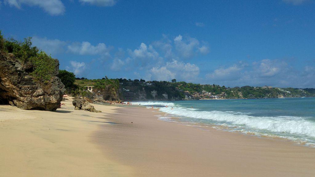 plage et falaises de dreamland