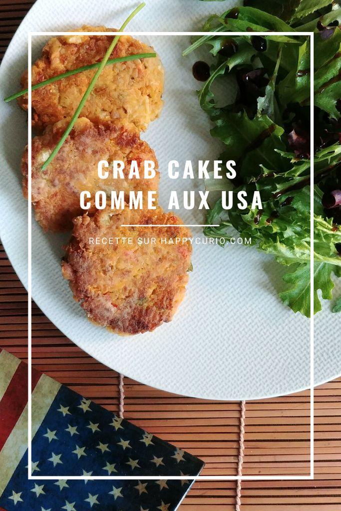 fiche recette des crab cakes