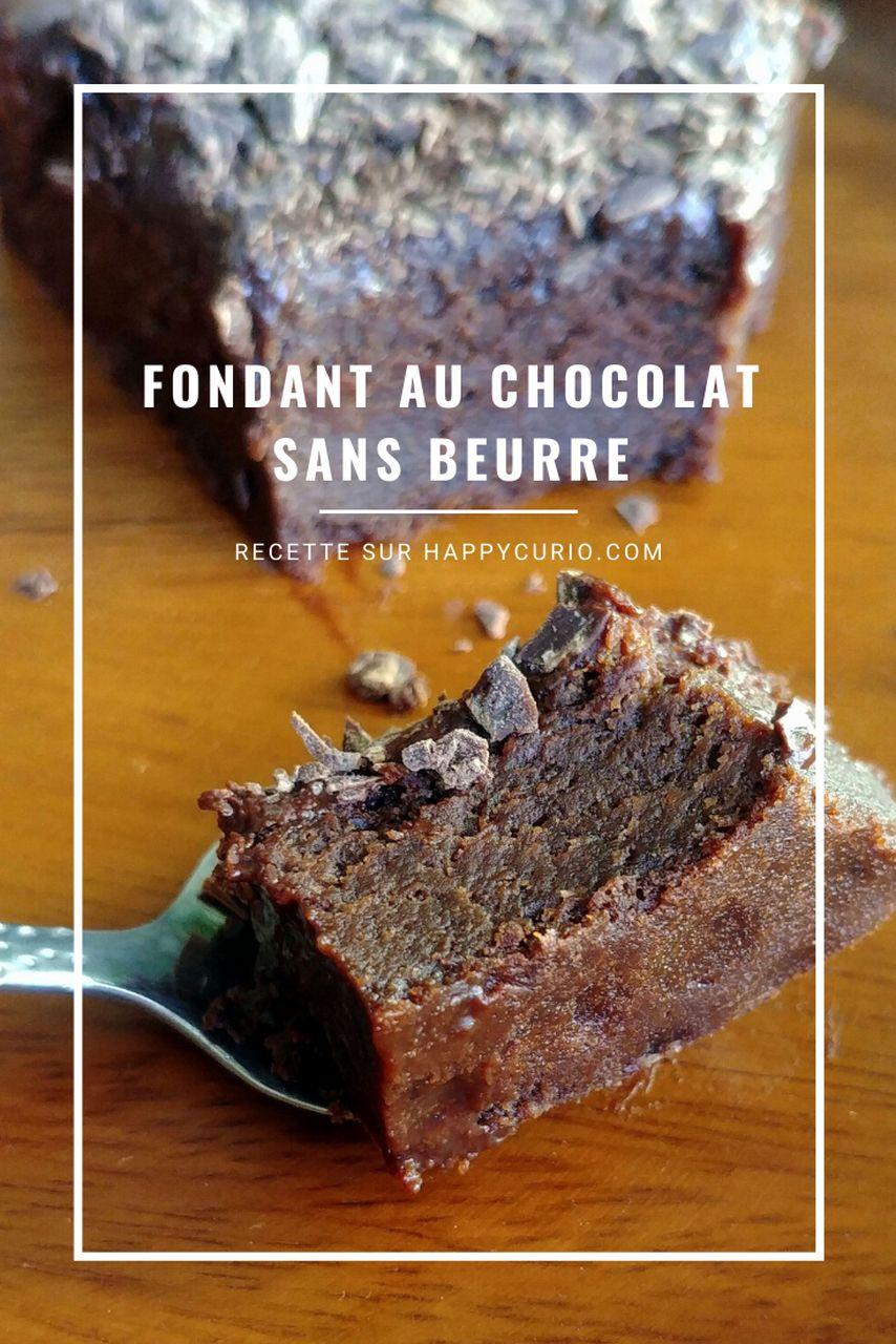 fiche recette fondant chocolat sans beurre et sans gluten avec compote