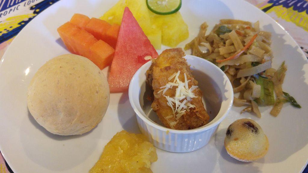 petit dejeuner au tijili hotel