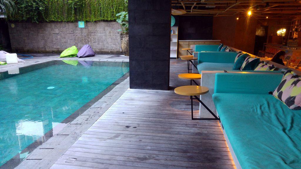 piscine du tijili hotel bali