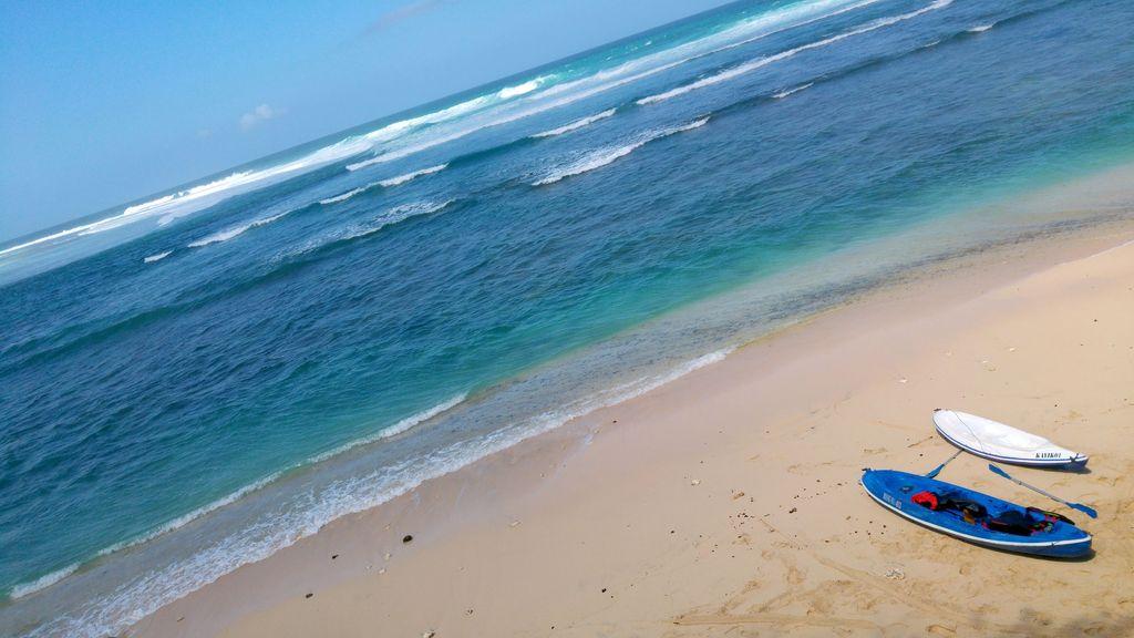 plage de green bowl bali