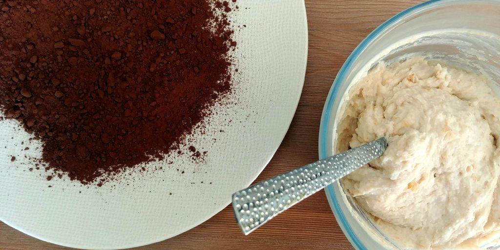 preparation de la pâte a tiramisu