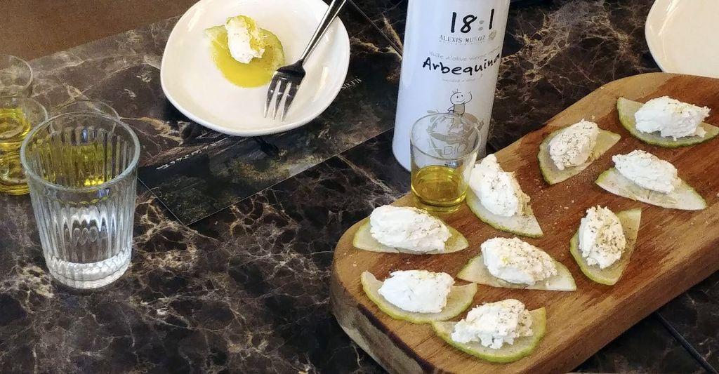 seance degustation d'huile d'olive