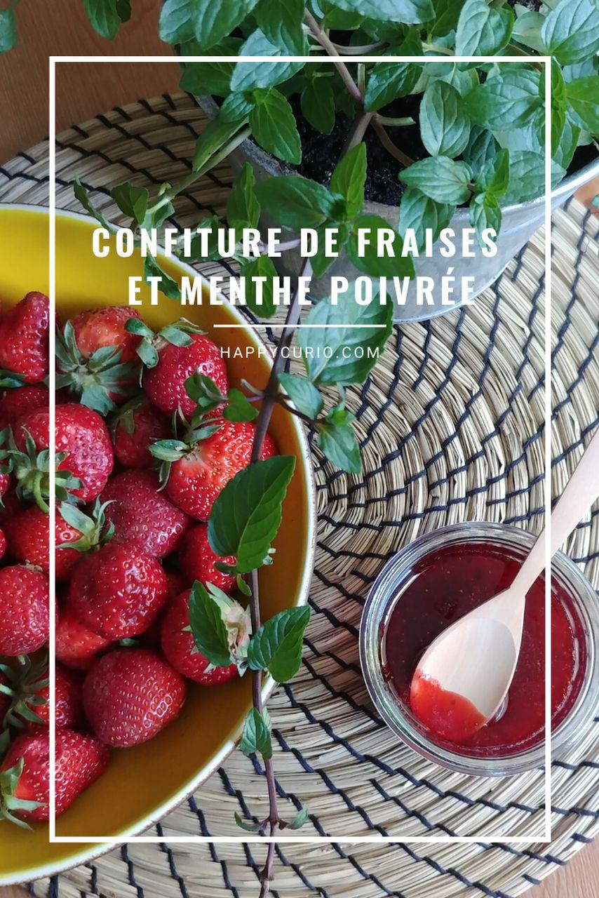 fiche recette de confiture de fraises