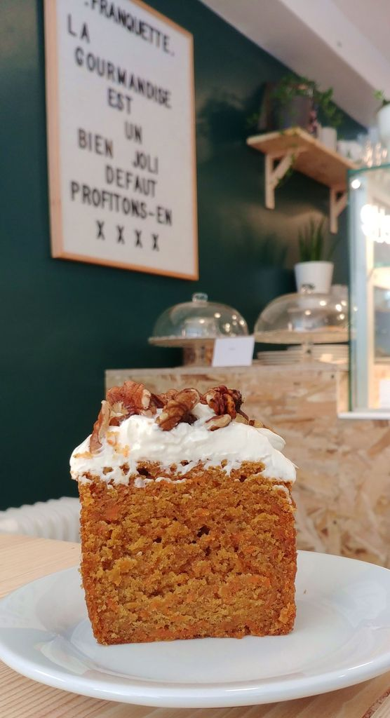 carrot cake chez franquette