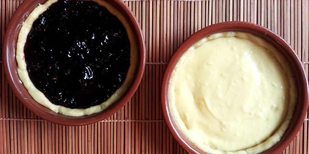 préparation des gâteaux basques