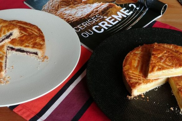crème ou cerise, les 2 gâteaux basques