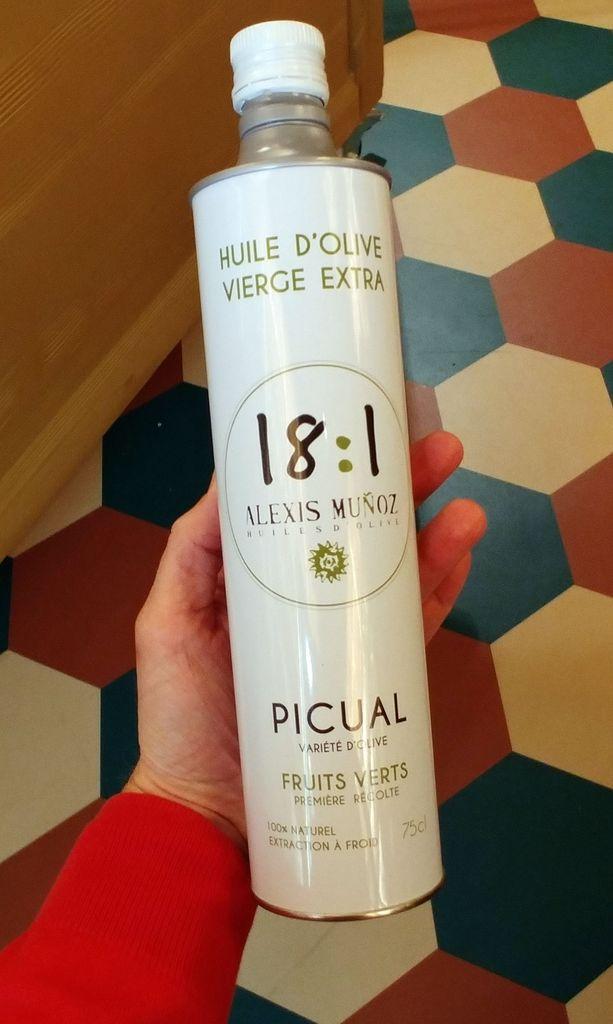 bidon d'huile picual