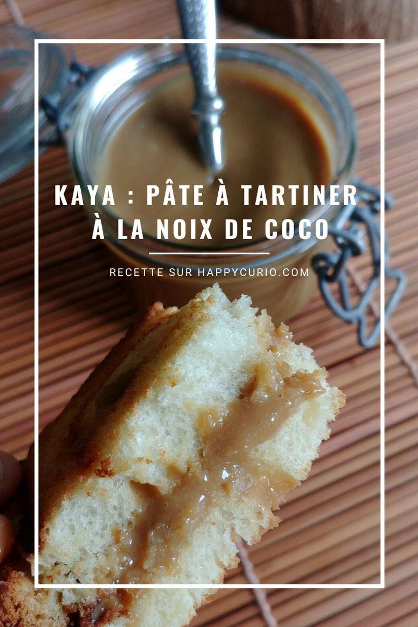 toast fourré à la noix de coco