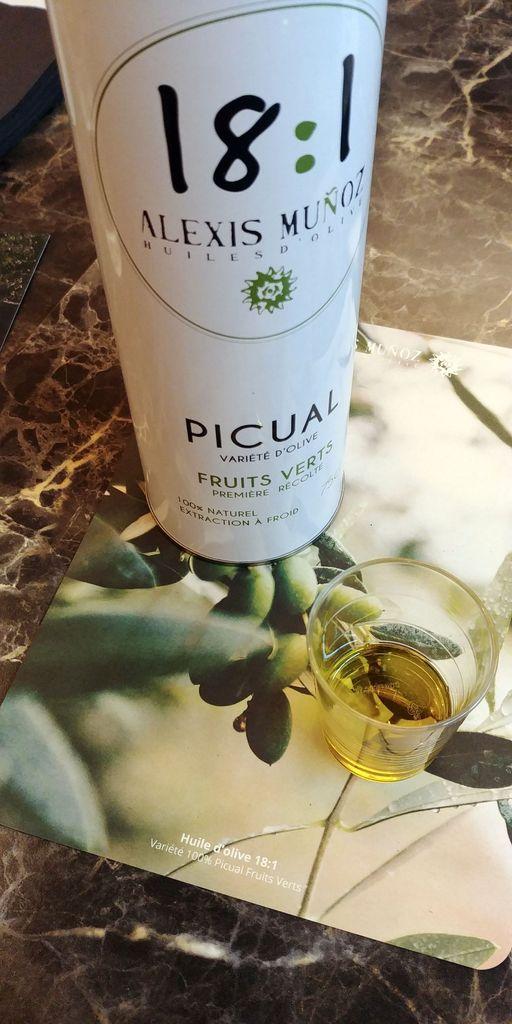 test de l'huile picual alexis munoz