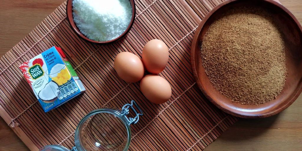 ingredients pour faire du kaya coco